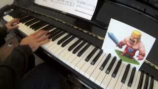 Clash Of Clans: Battle Theme For Piano