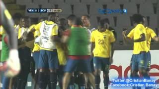 Venezuela 1 Ecuador 3 (Tyc Sports) Eliminatorias a Rusia 2018
