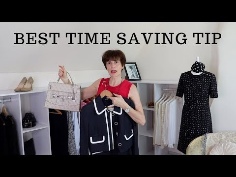 🇫🇷OUTFIT TO GO - A FRENCH WOMAN'S BEST TIME SAVER!