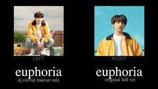Euphoria x DJ Swivel Forever Mix (Split Headphone) - BTS 방탄소년단 (Jungkook 정국) #2019BTSFESTA