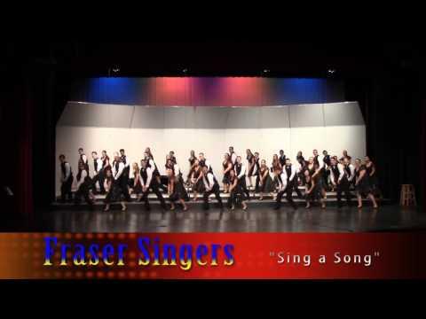 """Fraser Singers  """"Sing a Song""""  Cabaret 2017"""