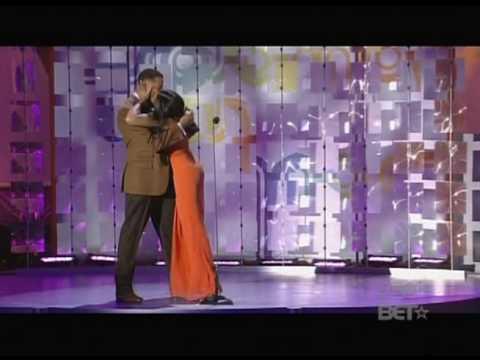 Taraji P. Henson and Terrence Howard (Kiss)