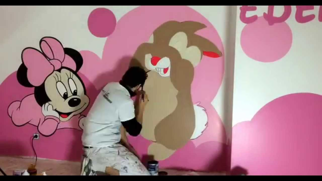 Design Mural Chambre Baby Disney