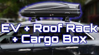 Kia Niro EV Roof Rack & Cargo Box