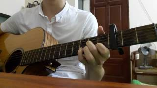 Lạ lùng (Vũ) Guitar cover