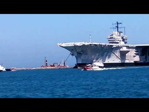 Crystal Flats Guide Service and the USS Forrestral Aircraft Carrier