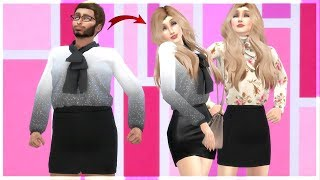 Boy is Turned into a Girl for Revenge ! ! // Part 2 - Transformation Story - Sims 4