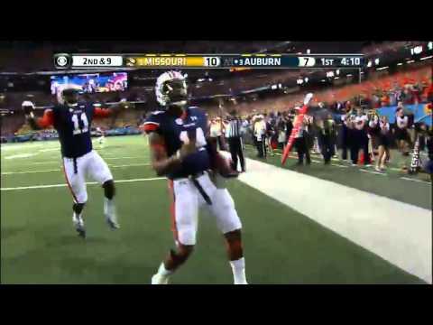 12/07/2013 Auburn vs Missouri Football Highlights