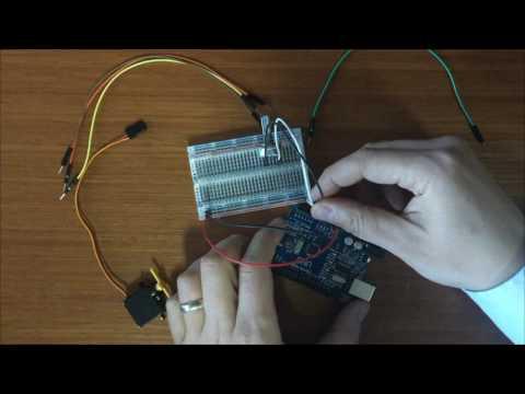 16. Arduino Dersleri: Potansiyometre ile Servo Motor Açı Kontrolü