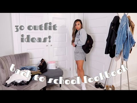 30 Back To School Outfit Ideas Fall Lookbook Cute Casual
