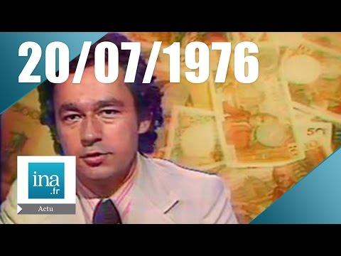 13H TF1 du 20 juillet 1976 - Hold-up à la Société Générale de Nice   Archive INA