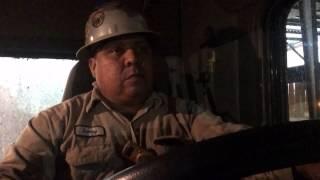 Truck driver's past haunts him