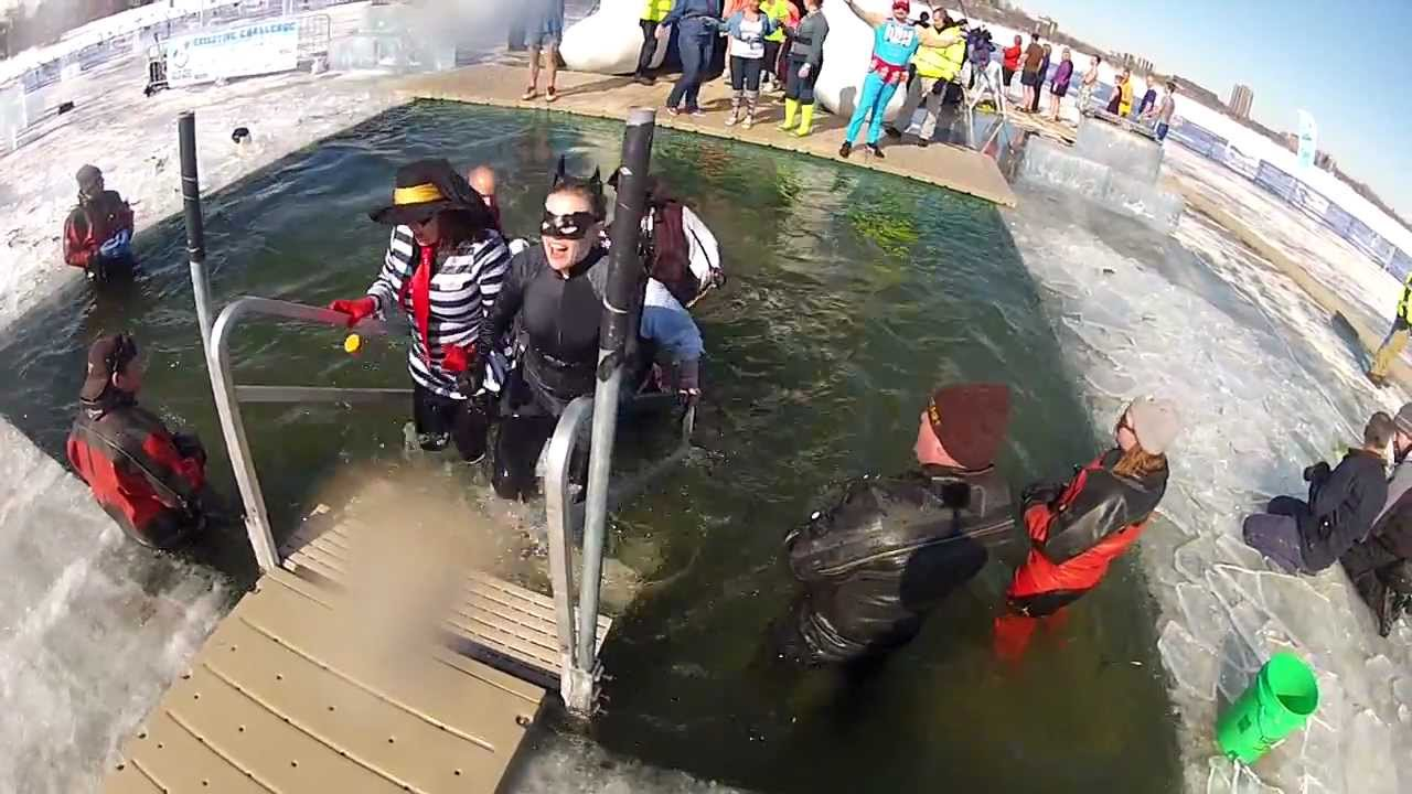 a special experience of the plunge