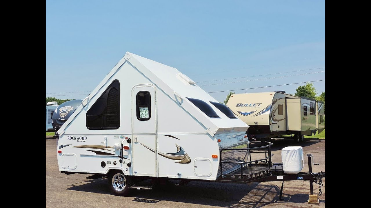 Awesome 19\' 2014 Rockwood Premier A122BH Hard Side Series A-Frame ...