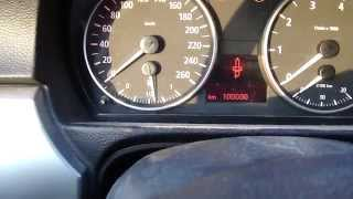 How to reset BMW 3-serie E90 service lights. Manual gearbox. Years 2005 to 2012