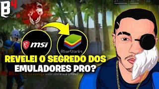 MOSTREI MINHAS CONFIGURAÇÕES E MINHA SENSI DO EMULADOR - COMO CONFIGURAR EMULADOR DE FREE FIRE 2020