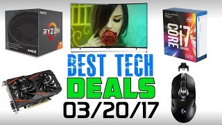 Best Tech Deals of the Week | 03-21-2017
