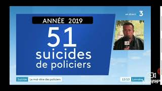 Suicides,marche de la colère interview Michel Corriaux  France 3 Lorraine
