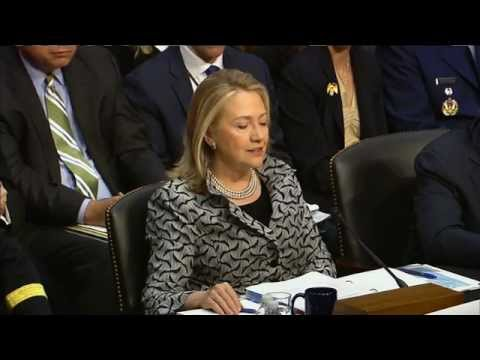 Secretary Clinton Testifies on the Law of the Sea Convention