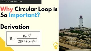 Magnetic Field on the Axis of a Circular Current loop | Hindi by Lighthouse