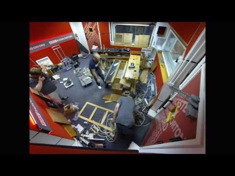 BBC Radio Oxford's Studio Refurbishment Timelapse