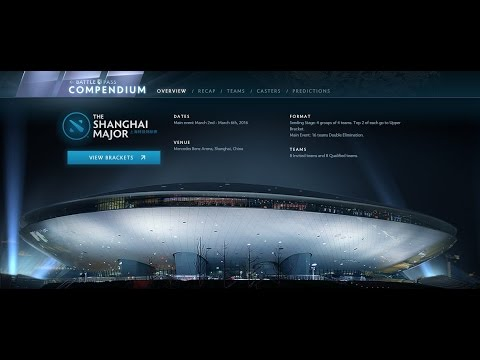 Merlini's Shanghai Major Compendium Predictions
