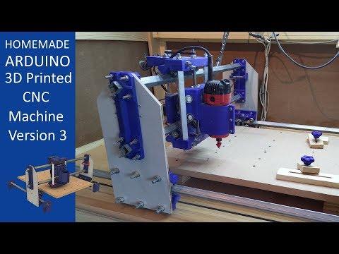 3D Printed CNC Machine V3