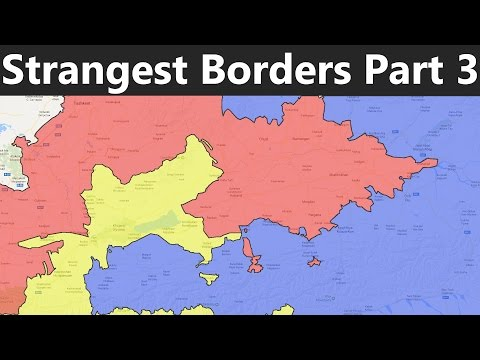 The World's Strangest Borders Part 3: Enclaves and Exclaves