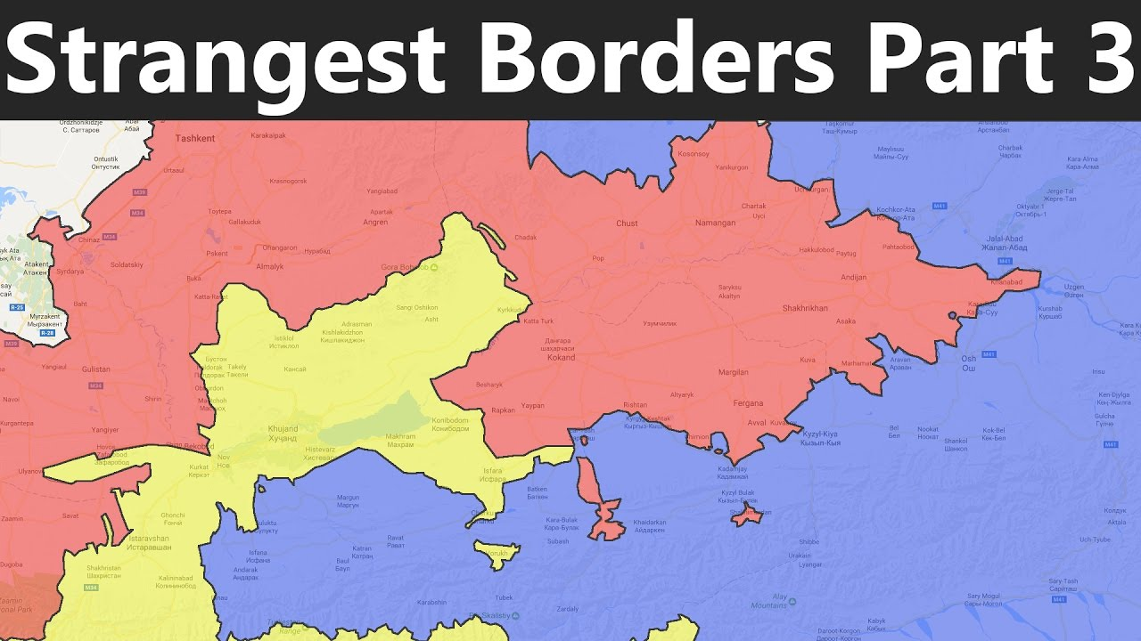 The World\'s Strangest Borders Part 3: Enclaves and Exclaves - YouTube
