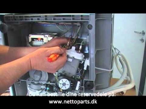 udskiftning af varmelegeme opvaskemaskine