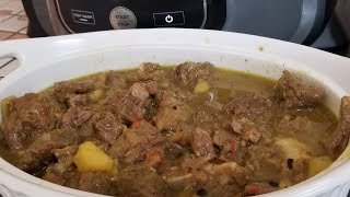 Ninja Foodi Curry Goat Happy Thanksgiving to my subscribers