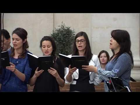 """Corul Bisericii Adventiste Grenelle Paris  """"TU numai TU""""  13 mai 2017"""