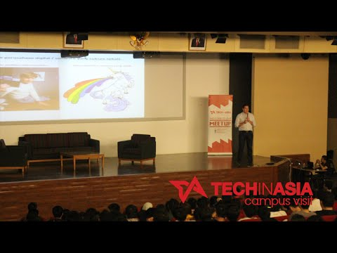 Tech in Asia Campus Visit with J.P. Ellis from CekAja.com