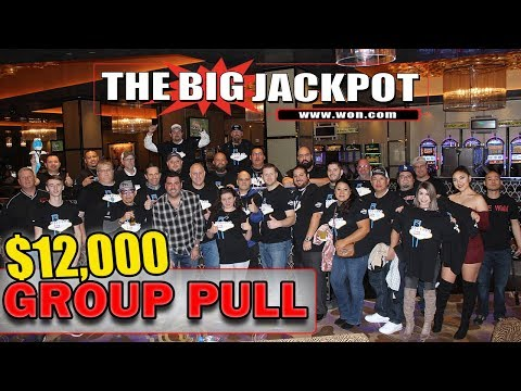 💸 HUGE TURNOUT! 💸 $12,000 GROUP PULL @ Hard Rock Casino in Las Vegas
