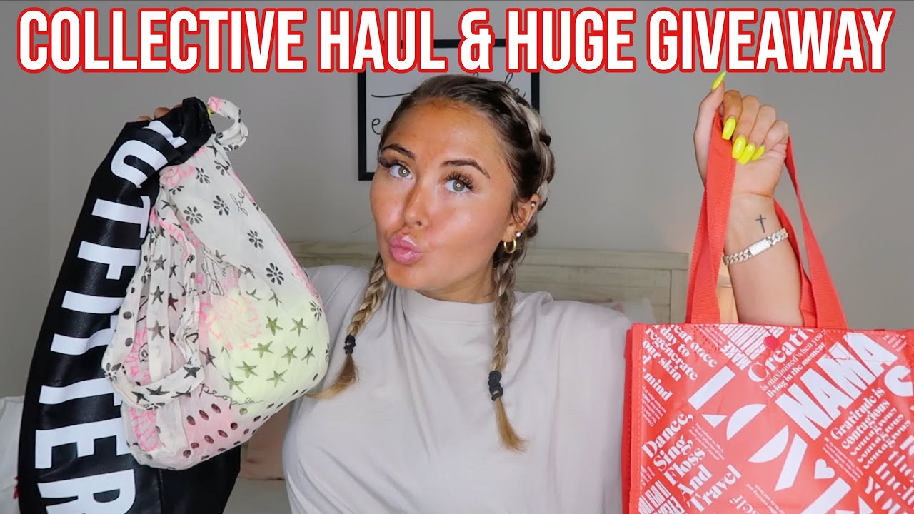 COLLECTIVE HAUL + 2 WINNER GIVEAWAY! *summer 2020* || Lululemon, Urban, Free People, & SOJOS