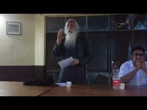 Famous economist Prof. Arun Kumar speaks on corruption & corporation takeover of democracy in JNU.
