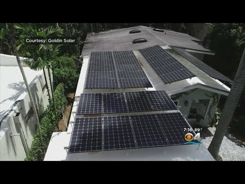 Solar Energy Becoming Increasingly Popular In Florida As Hom