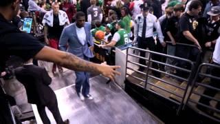 Miami Heat vs Celtics at TD Garden on March 19th 2014