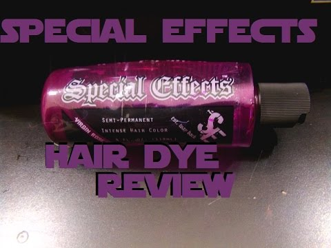 Special Effects Hair Dye Review!