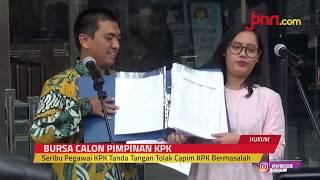 Seribu Pegawai KPK Tanda Tangan Tolak Capim KPK Bermasalah - JPNN.com