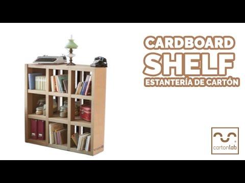 how home bookshelf own ahxte cardboard corner to make hometone your
