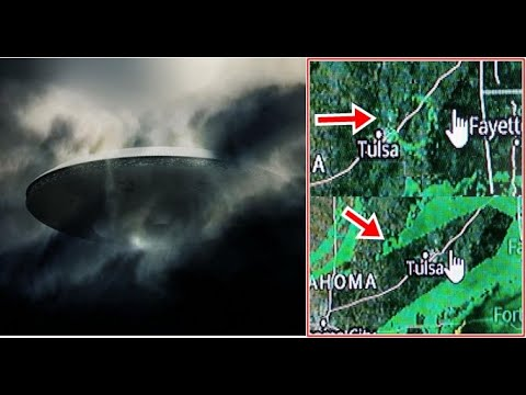 Monstrous object seen on radar over Oklahoma