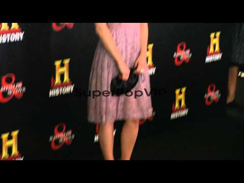 Lindsay Pulsipher at HISTORY�?s HATFIELDS and McCOYS PRE...