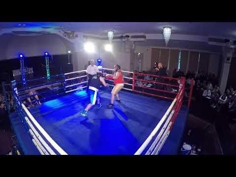 Ultra White Collar Boxing | Dunfermline | Stephen Guy VS Willie Dunsire