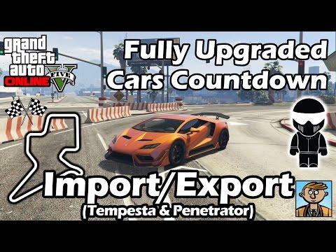 Fastest Import/Export DLC Vehicles (Tempesta & Penetrator) - Best Fully Upgraded Cars In GTA Online