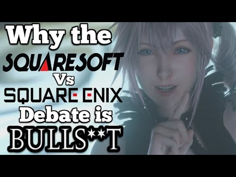 History of the Square Enix merger that didn't change Final Fantasy (mild cutscene spoilers)
