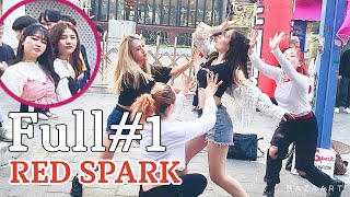 "[K-POP in Public]  Full#1  190515 ""RED SPARK"" cover dance Hongdae busking"
