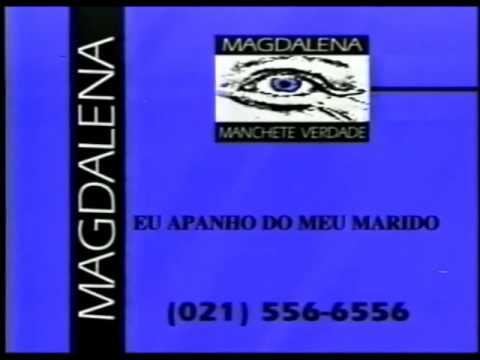 Chamada: Magdalena Manchete Verdade (1998)