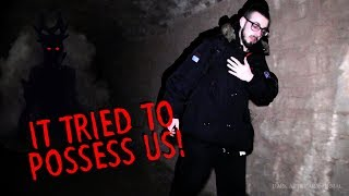 WE NEARLY GOT POSSESSED (Haunted Fort Investigation Gone Wrong)