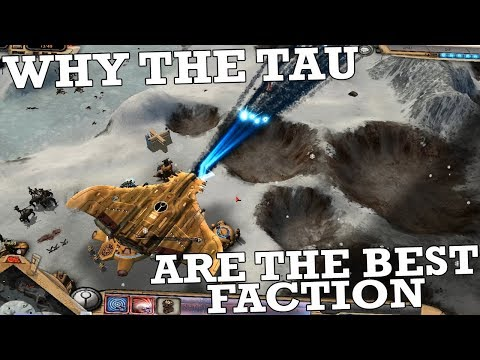 Why The Tau Are The Best Faction In Dawn Of War: Ultimate Apocalypse Mod